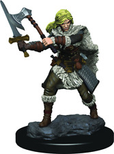 W3 Human Female Barbarian 93020 Icons of Realms Premium Figures D&D SHIPS 8/19