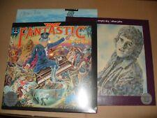 ELTON JOHN CAPTAIN FANTASTIC/EMPTY SKIES/BLUE MOVIES/HONKY TONK 7 x VINYL ALBUMS