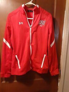 SFU Golf Saint Francis Red Flash UNDER ARMOUR NCAA sz M Med Womens Unisex