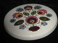 Kuchenplatte Keramik - mit Drehmontierung aus Metall -  Gruen