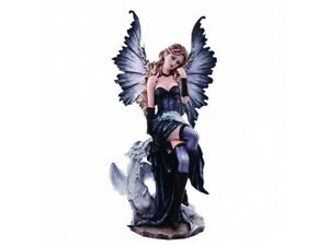 ADRIANA Extra Large 56.5cm Fairy & Dragon Figurine Ornament Nemesis Now FREE P+P