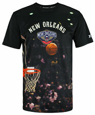 Zipway NBA Men's New Orleans Pelicans Hoop T-Shirt, Black