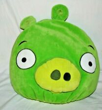 "Angry Birds Green Pig 13"" x 15"" Plush Microbead Bean Bag Large Pillow"