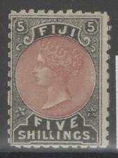 Mint Hinged Victorian (1840-1901) Fijian Stamps