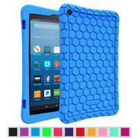 Shockproof Silicone Case for Fire HD 8 (7th and 8th Generation, 2017 and 2018)