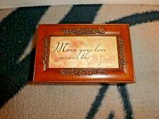 Cottage Garden Music Box: Pr108 Mom Your Love Wind Beneath My Wings
