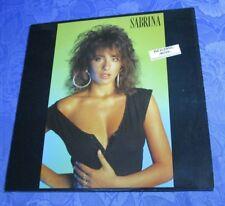 SABRINA (VINYL LP) SAME ♫♫ [ORIG 1987 CHIC *ITALO SYNTH +BOYS **GERMAN PRESS] EX