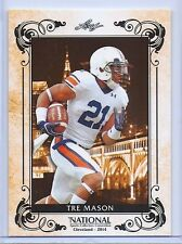 """TRE MASON 2014 LEAF LIMITED """"NATIONAL SPORTS CONVENTION"""" ROOKIE CARD!"""