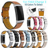 Luxury Leather Replacement Accessories Band Wristband Straps For Fitbit Charge 3