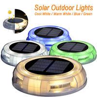 Solar Light Outdoors Waterproof Bright 8 LED Lights Buried Street Garden Decor