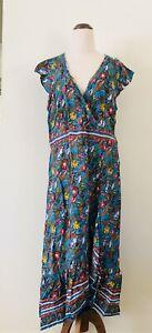 Boom Shankar Floral Midi Dress Like New 16