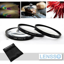 67mm Macro Close Up +2 +4 +10 Lens Set Kit FOR canon pentax sigma