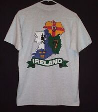 American First Irish Always Ireland T Shirt Size M Flag Nation Country Heritage
