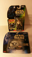 Micro Machines Star Wars Galoob Trade Fed Kenner Han Solo freeze frame lot 2