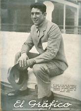 EL GRAFICO MAGAZINE # 576 URUGUAY FIRST SOCCER WORLD CUP 1930 MEGA RARE