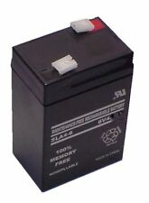 6 volt 4 ah sealed  smf battery open terminals type