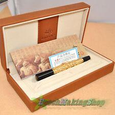JINHAO 555 EXECUTIVE GOLDEN Dragon protect Fountain Pen pen box
