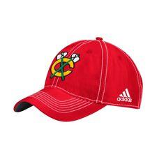 Chicago Blackhawks NHL Adidas Adjustable Strap Hat, Red