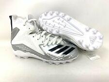 adidas Boys' Youth Football Cleats 5 US