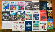 Atari 2600 5200 System Manual + Comic Book LOT ET PacMan Donkey Kong Force