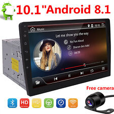 """10.1"""" Double 2DIN Car Android 8.1 Stereo Radio No-DVD Player 4G WIFI GPS +CAMERA"""