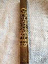 Antique Knitting Needle Wooden Case Alfred Shrimpton & Sons NY NY Great Gift