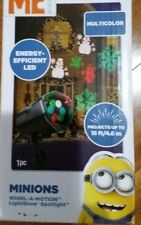 New Despicable Me Minion Whirl-a-Motion Multicolor Led Lightshow Spotlight