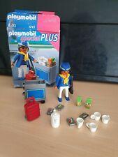 Playmobil 4761 - Flugbegleiterin mit Servicewagen