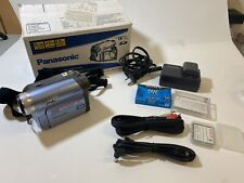 Panasonic Pv-Gs19 Mini Dv Camcorder with extras, excellent working condition
