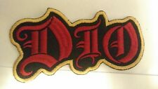 DIO Embroidered Patch IRON/SEW ON Black Sabbath Metal USA Seller Fast Delivery