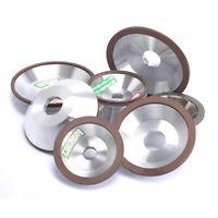 "3""-6"" Resin Bonded Flaring Diamond Grinding Cup Wheel 120-600Grit Cutter Grinder"
