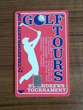 Golf Tours Telefonkarte 6 DM