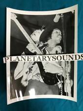 JIMI HENDRIX BLACK and WHITE ON STAGE PORTRAIT ~8x10 REPRO~PSYCHEDELIC ACID ROCK