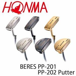 """HONMA GOLF JAPAN BERES PP-201 / PP-202 PUTTER 34"""" 2021c"""