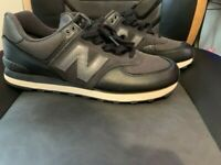 Mens New Balance 574 Classic shoes - Black - Size 11 1/2