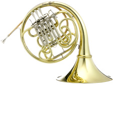 Hoyer G10L2A  Geyer Style Double French Horn, Clear lacquer, string mechanism