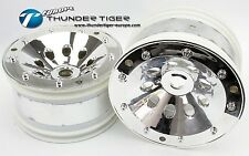Thunder Tiger Felgen Monster-Truck 1:8, 17mm Stern-6-Kant Chrom(2)
