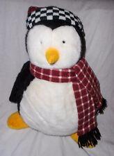 "Debbie Mummford Hugsy Penguin Mumm Plush Stuffed Animal 18"" Friends Joey Mervyns"