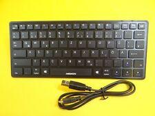 Funk Tastatur mit Bluetooth/Kabellose für Notebook/Tablet-PCs und Smartphones/SW