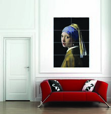 Johannes Vermeer The Girl With A Pearl Earring Giant Poster Picture Print