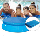 Swimming Pool Round Pool Cover Protector Blanket Above Ground Blue Pool New
