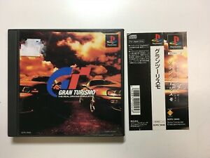 FREE SHIPPNG SONY PS PLAYSTATION  JAPAN NTSC GRAN TURISMO spine