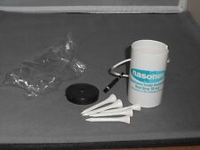 Nasonex Drug Rep Golf Caddie With 5 Wooden Golf Tees Never Used Mint In Plastic