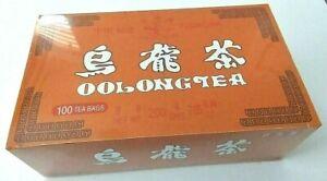 OOLONG TEA 乌龙茶 100 tea bags.