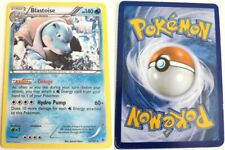 BLASTOISE 16/101 SET ESPLOSIONE PLASMA NB RARA HOLO POKEMON ENGLISH EXCELLENT EX