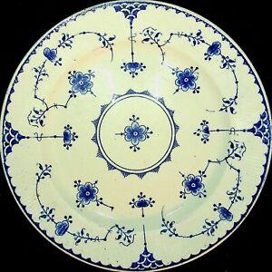 Gustavsberg ALVA Dinner Plate Blue & White China Made In Sweden
