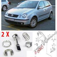 VW POLO 9N SERIES DOOR LOCK BARREL REPAIR KITS FOR  FRONT RIGHT  LEFT 6K483722