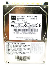 Toshiba 30GB MK3021GAS IDE (HDD2181 C ZE01 T) Laptop Hard Drive WIPED & TESTED!