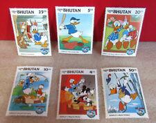 Disney Donald Duck Bhutan Stamps Memorabilia