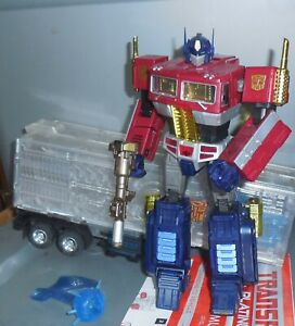 Transformers Masterpiece Platine Optimus Prime An De Cheval Mp-10
